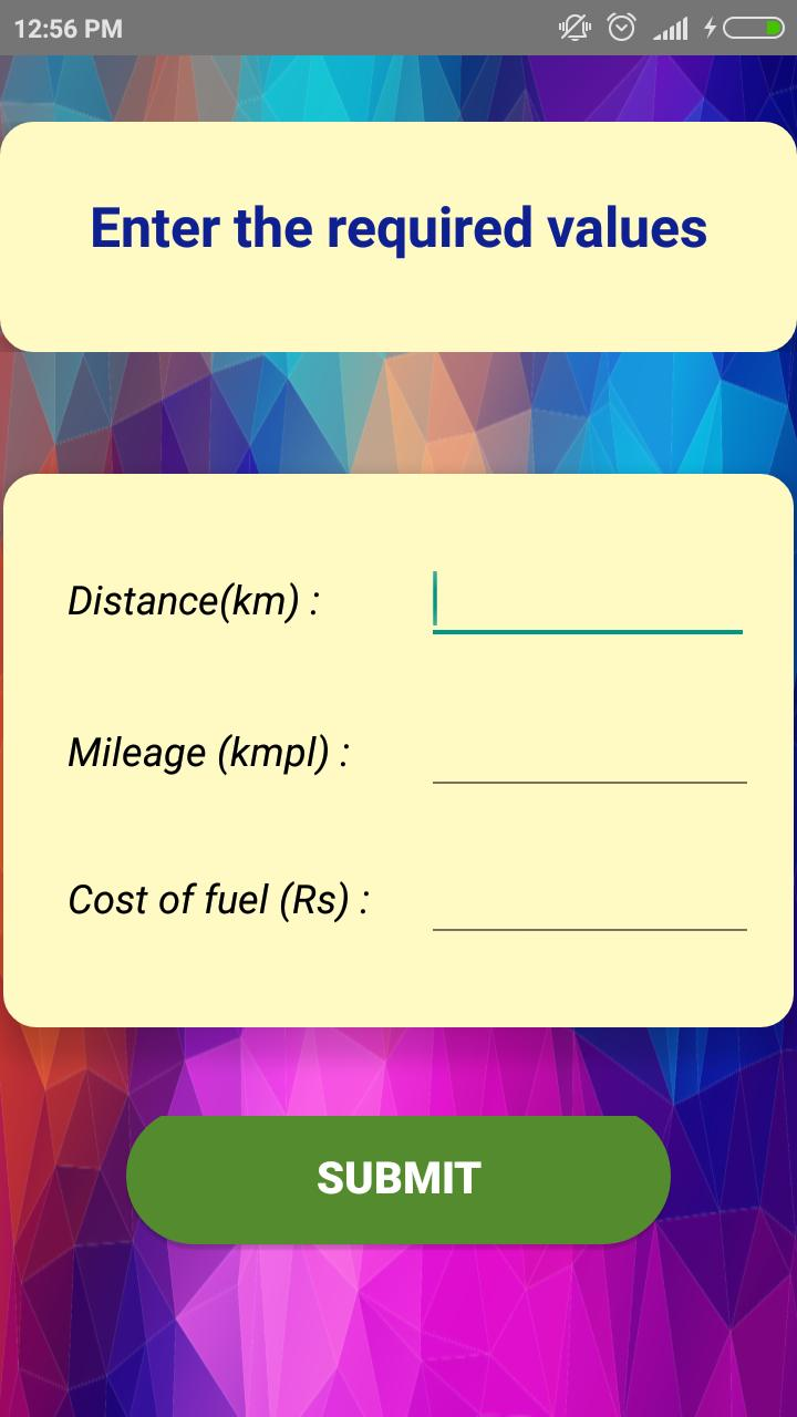Fuel Costy - fuel cost calculator for Android - APK Download