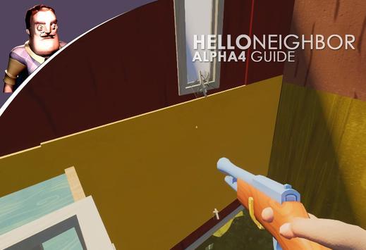 guide Hello neighbor alpha 4 poster