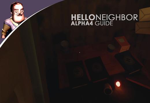 guide Hello neighbor alpha 4 apk screenshot