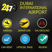 FlightTracker-DUBAI AIRPORT icon