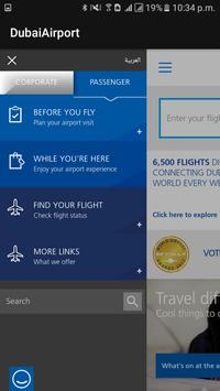 FlightTracker-DUBAI AIRPORT apk screenshot