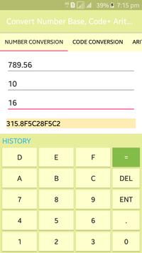 Convert Number Base, Code+ Arithmetic screenshot 2