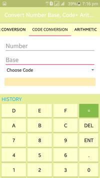 Convert Number Base, Code+ Arithmetic screenshot 3