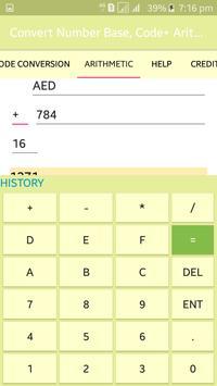 Convert Number Base, Code+ Arithmetic screenshot 6