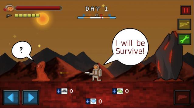 Survive on Mars apk screenshot