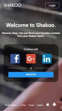 SHAKOO – DISCOVER, LIKE and SHARE your INTERESTS! poster