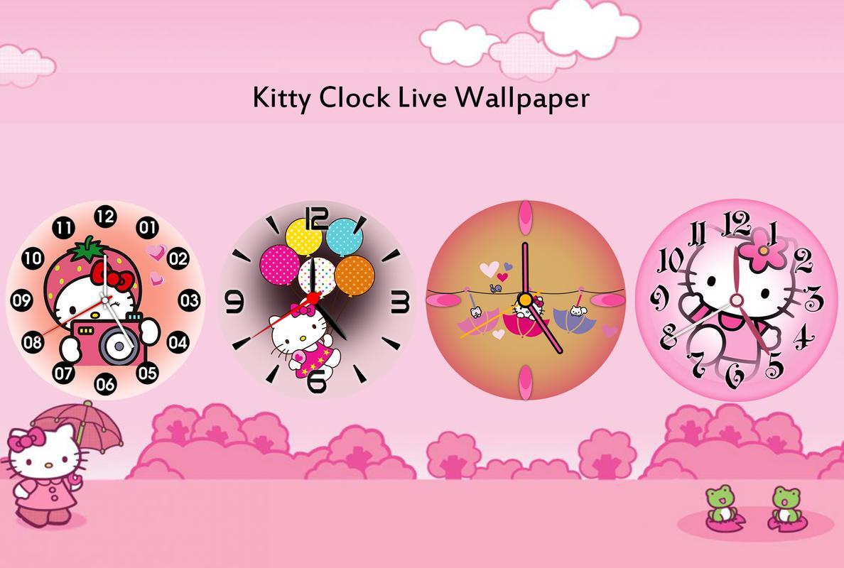 backgrounds wallpaper app how to set clock