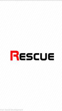 Call for help - Rescue poster