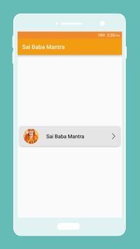 Sai Baba Mantra Collections screenshot 3