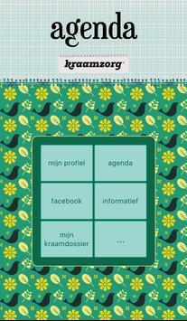 Kraamzorg Agenda poster