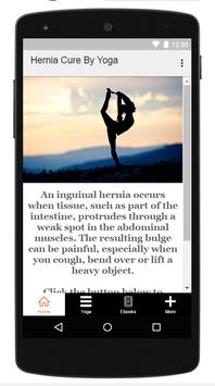 Hernia Cure By Yoga poster