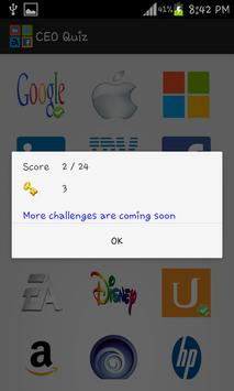CEO Quiz screenshot 2