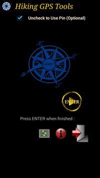 Hiking GPS Tools poster