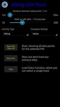 Hiking GPS Tools apk screenshot
