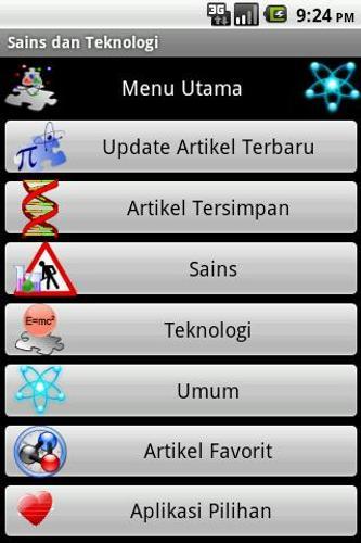 Sains Dan Teknologi For Android Apk Download