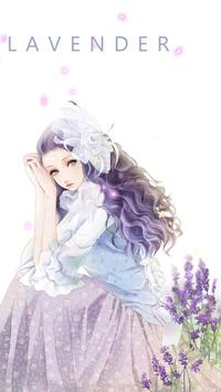lavender live wallpaper screenshot 1