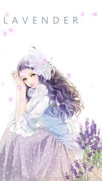 lavender live wallpaper screenshot 2