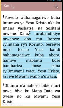 KINYARWANDA BIBLE apk screenshot
