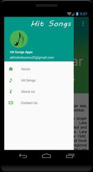Lata Mangeshkar Hit Songs apk screenshot