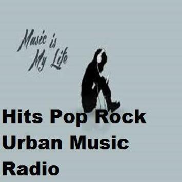 Hits Pop Rock Urban Music Radio poster
