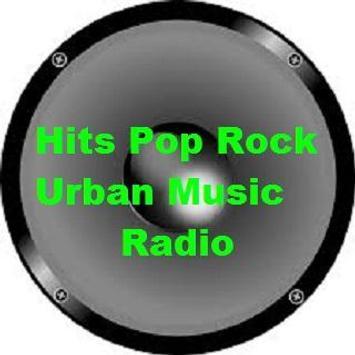 Hits Pop Rock Urban Music Radio screenshot 1