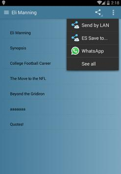 Eli Manning screenshot 2