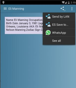 Eli Manning screenshot 4