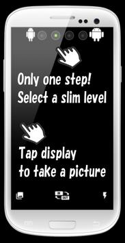 Slim Camera - make you slender apk screenshot