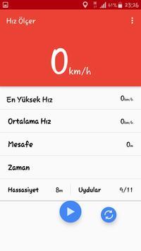 Hız Ölçer - Hız Göstergesi screenshot 1