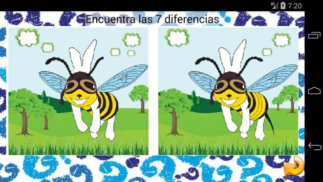 Encuentra las Diferencias screenshot 1