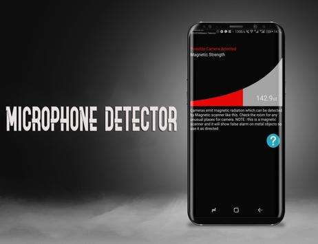 Hidden Microphone Detector - micro & camera detect screenshot 2
