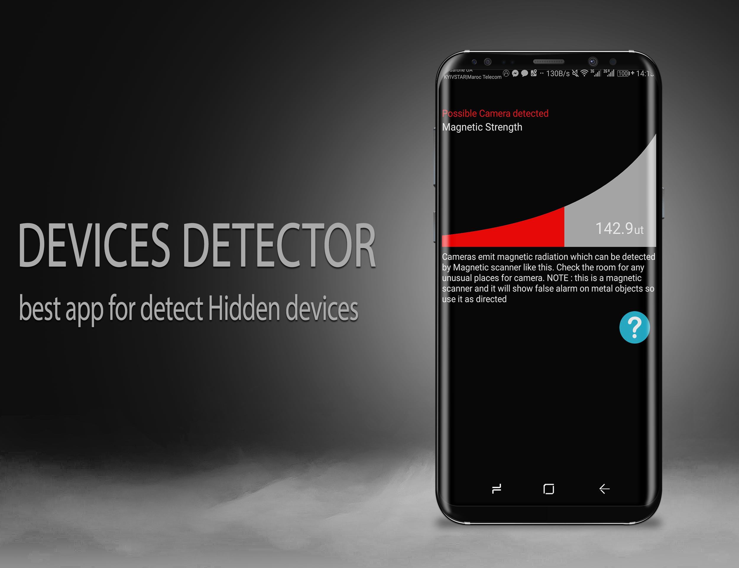 Hidden Devices Detector: Hiden Camera & Microphone for