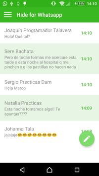 Hide for Whats APP screenshot 2