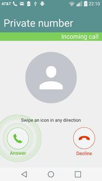 Hide My Caller ID Phone Number 截圖 1