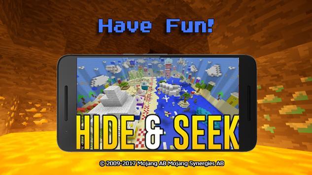 Hide N Seek Minecraft PE Maps für Android - APK herunterladen