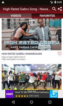 High Rated Gabru Song - Nawabzaade Movie Songs screenshot 3
