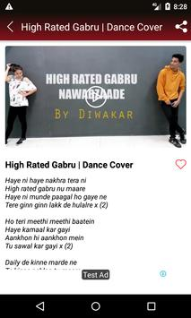 High Rated Gabru Song - Nawabzaade Movie Songs screenshot 4