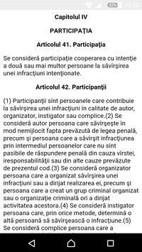 Codul Penal al RM screenshot 1