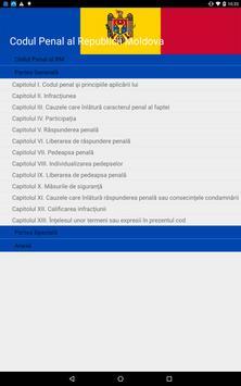 Codul Penal al RM screenshot 2