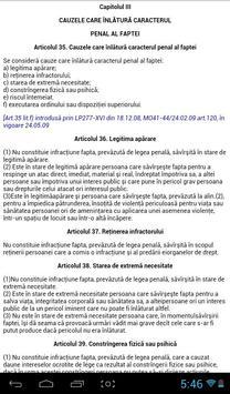 Codul Penal al RM screenshot 5