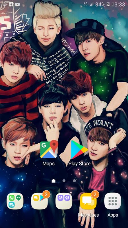 Bts Wallpaper Free For Android Apk Download