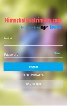 Himachali Matrimony apk screenshot