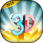 3D Text Maker and editor - 3D Logo Maker icon