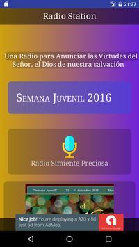 Radio Simiente Preciosa poster