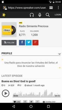 Radio Simiente Preciosa screenshot 1