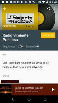 Radio Simiente Preciosa screenshot 2