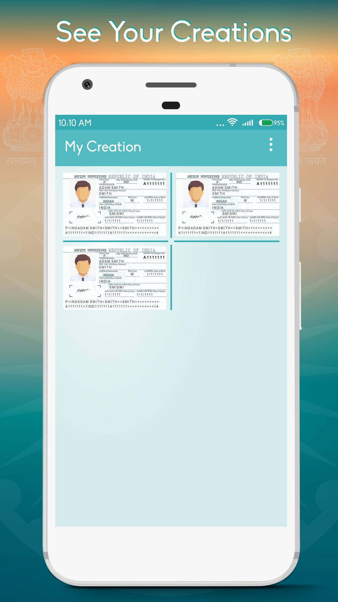 Passport ID Maker Prank for Android - APK Download