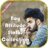 Boy Attitude Status Collection icon