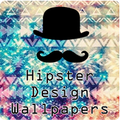 🔼 HIPSTER DESIGN WALLPAPERS FREE 🔼 icon