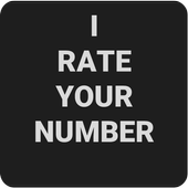 I rate your number. icon